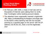 a real world mass phishing attack