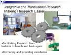 integrative and translational research making research easier