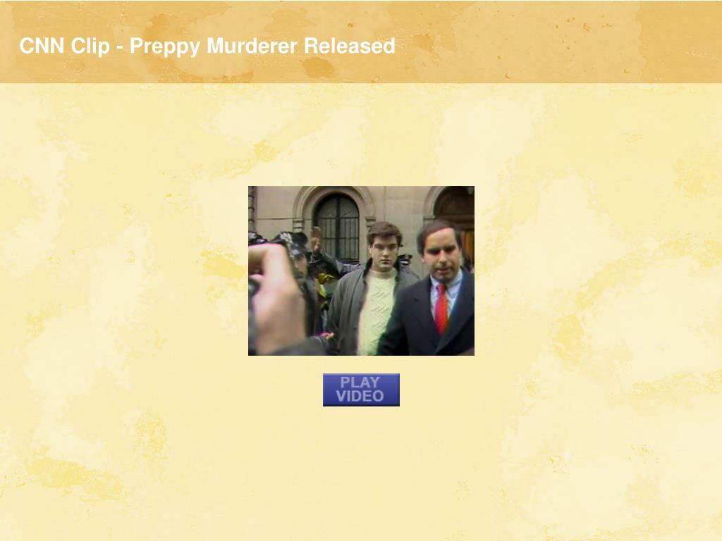 CNN Clip - Preppy Murderer Released