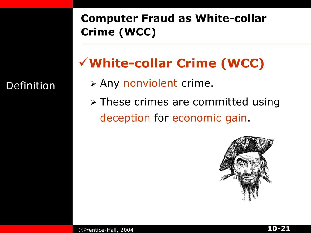 Computer Fraud as White-collar Crime (WCC)