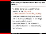 electronic communications privacy act ecpa