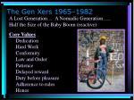 the gen xers 1965 1982