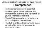 annex kanbur s criteria for peer review 1 competence