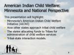 american indian child welfare minnesota and national perspective2