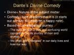 dante s divine comedy