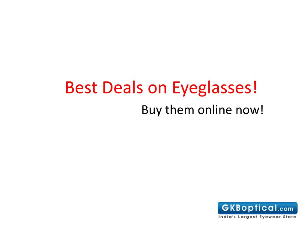 best deals on eyeglasses l.