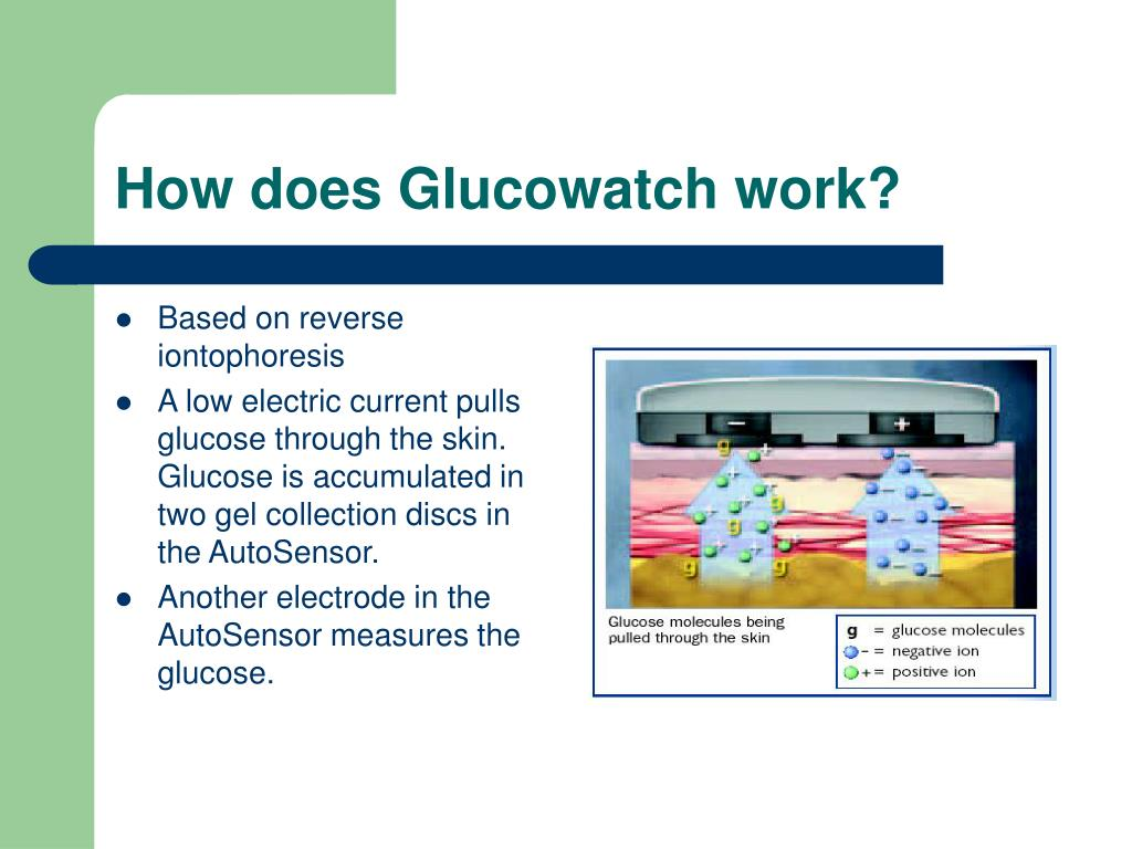 How does Glucowatch work?