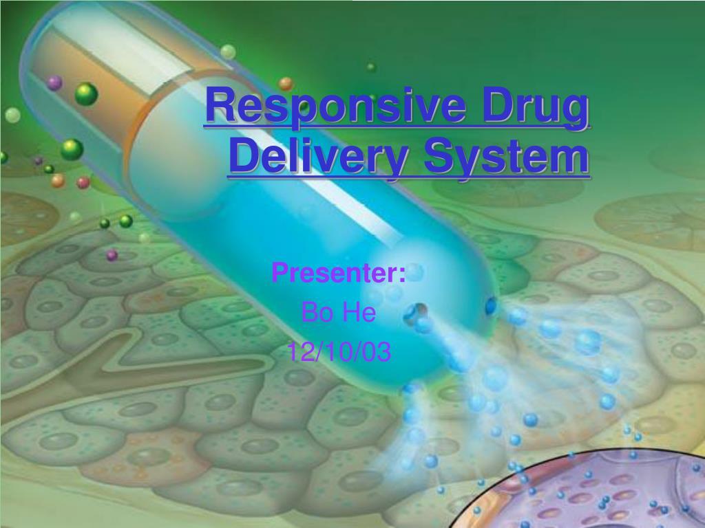 responsive drug delivery system l.