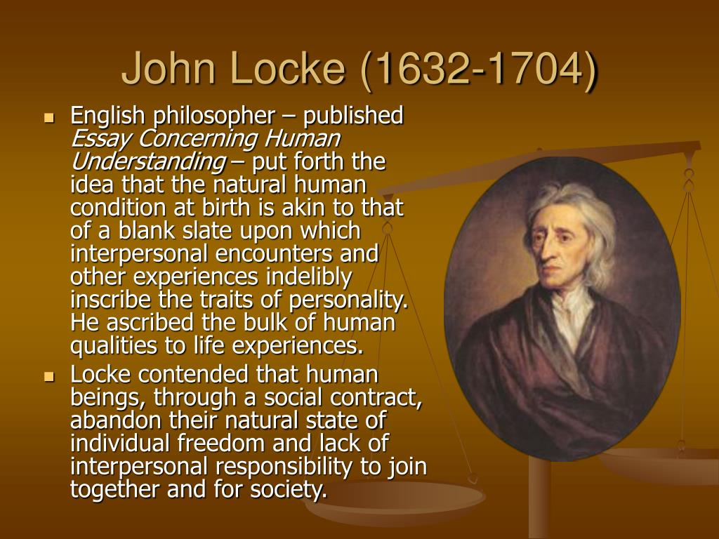 john locke the state of nature essay Second treatise john locke 2: the state of nature different powers, we can get clearer about how the powers differ by looking at the different relationships in which the.