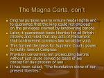 the magna carta con t