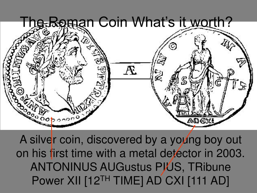 the roman coin what s it worth l.