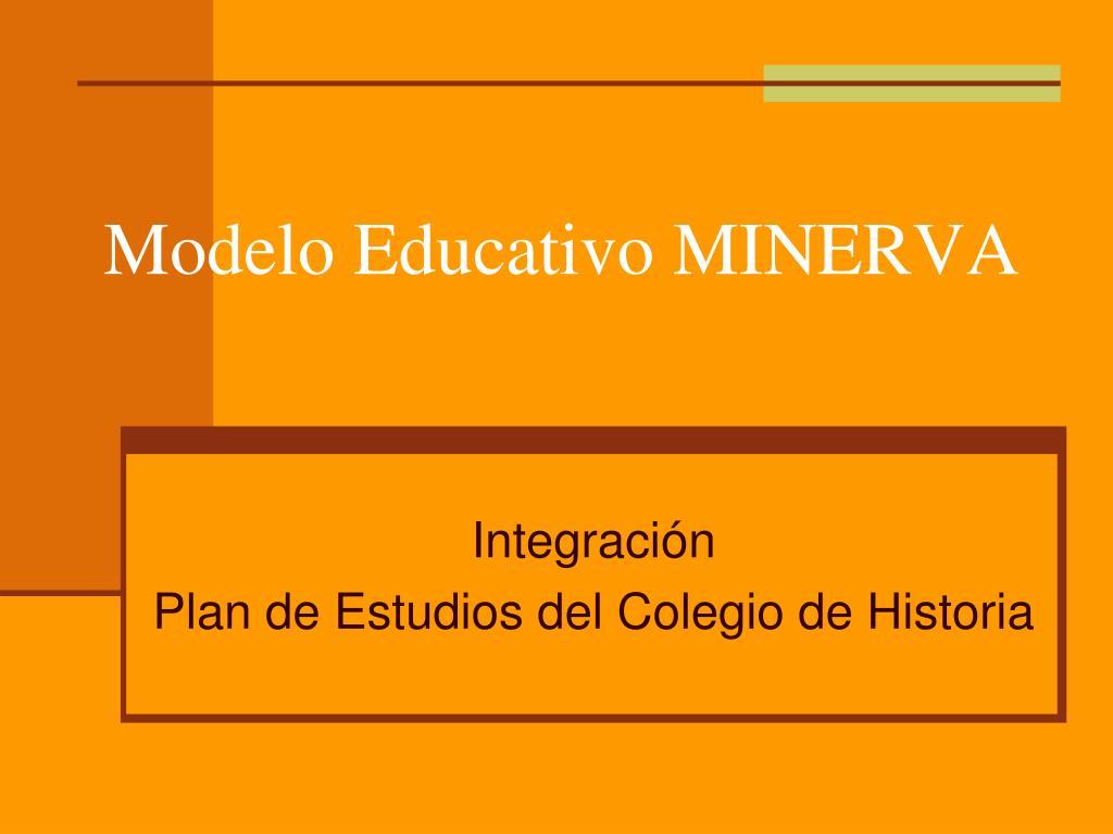 modelo educativo minerva l.