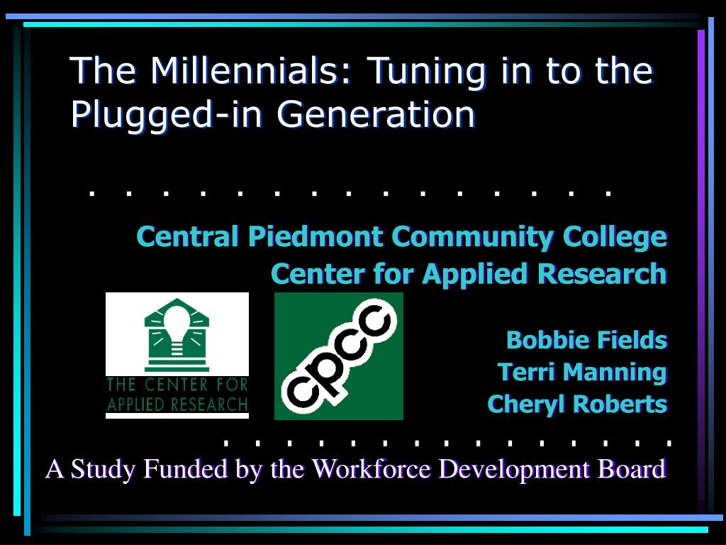 the millennials tuning in to the plugged in generation l.