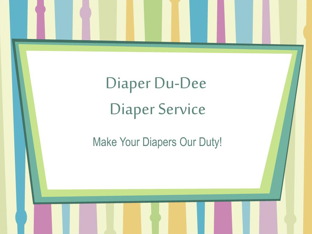 diaper du dee diaper service l.