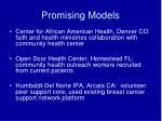 promising models