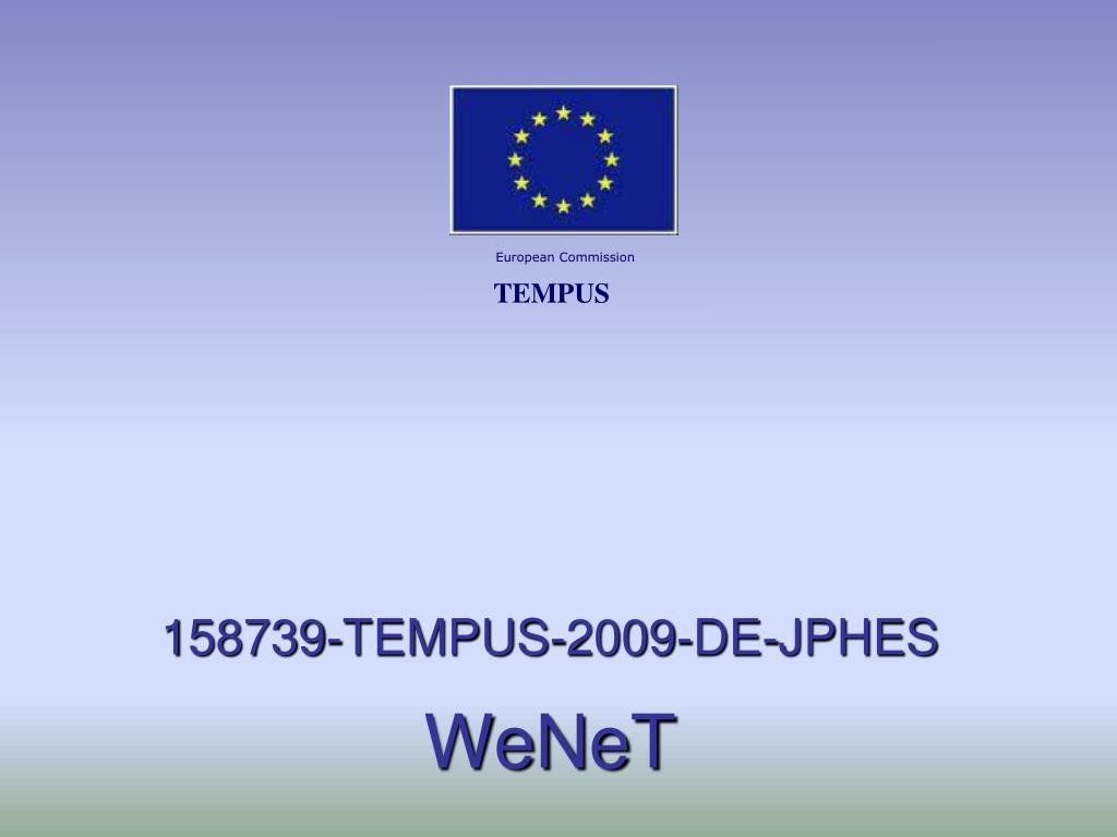 158739 tempus 2009 de jphes wenet l.