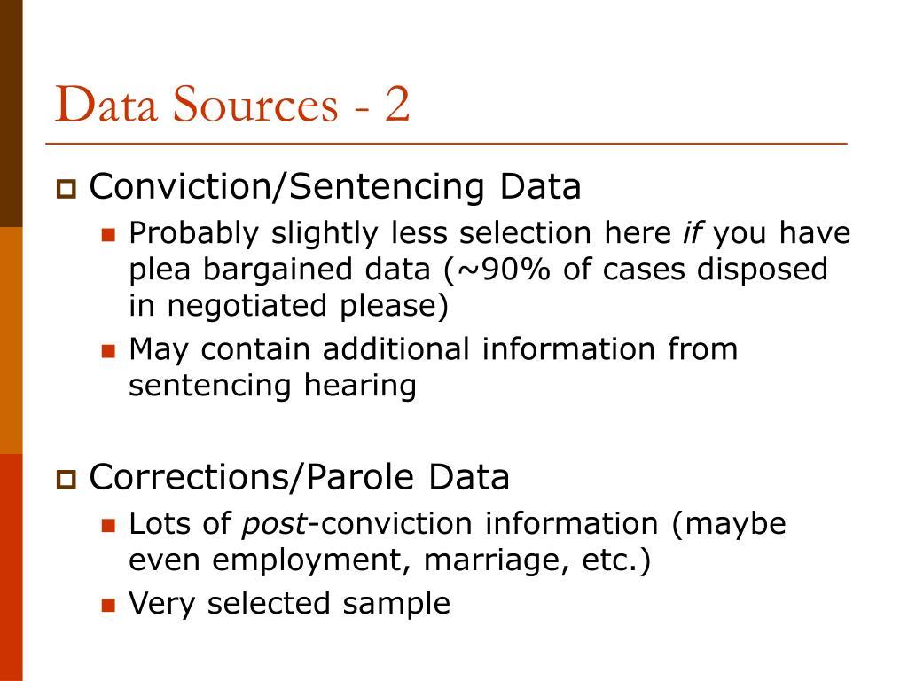 Data Sources - 2