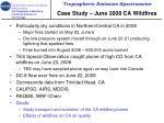 case study june 2008 ca wildfires