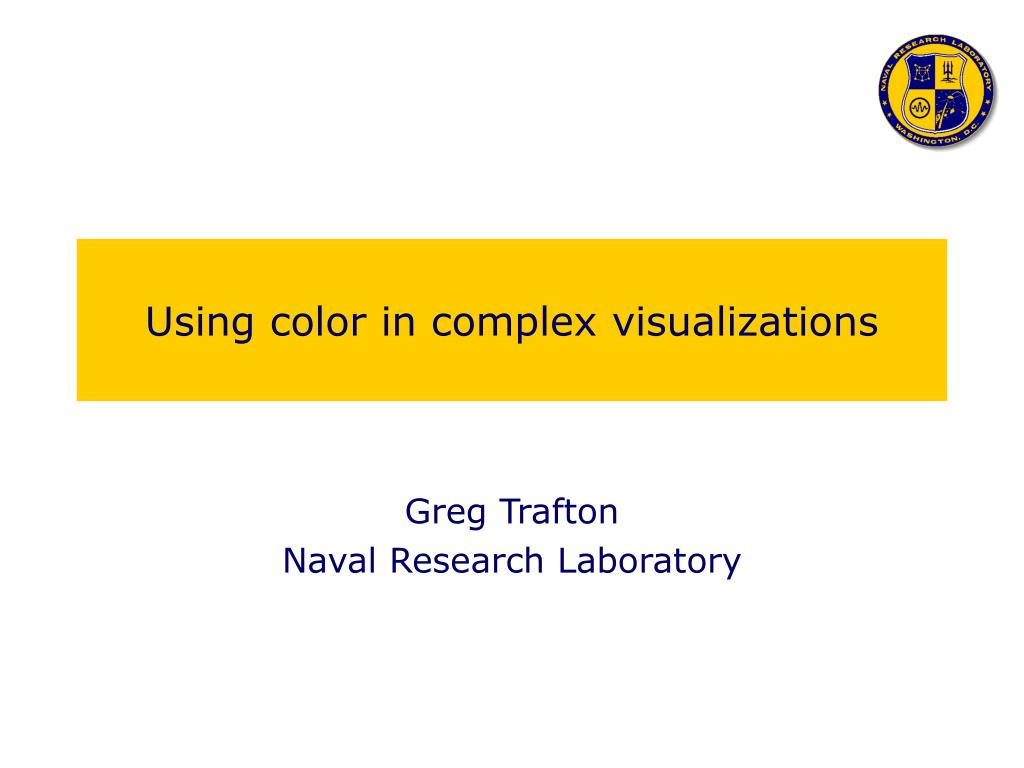 using color in complex visualizations l.