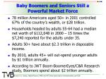 baby boomers and seniors still a powerful market force