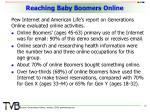 reaching baby boomers online