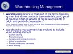 warehousing management5