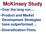 mckinsey study