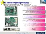 mio 2260 compelling features