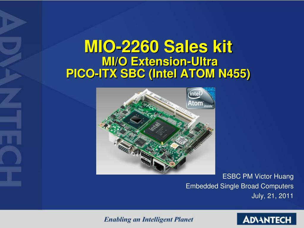 Advantech MIO-2260 Intel Chipset Driver UPDATE