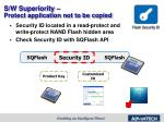 s w superiority protect application not to be copied