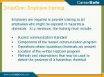 hazcom employee training