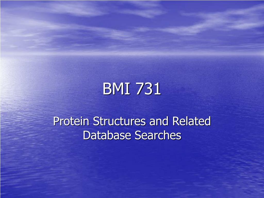 bmi 731 l.