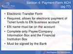 section 4 payment form ach pg 77