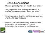 basis conclusions