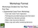 workshop format9