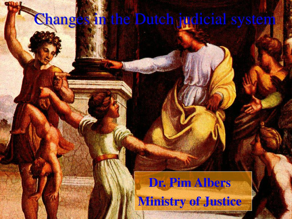 changes in the dutch judicial system l.