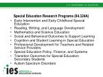 special education research programs 84 324a