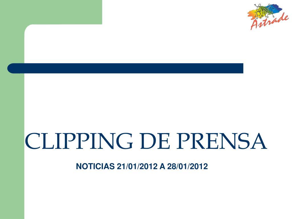 clipping de prensa l.