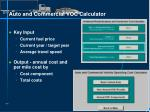 auto and commercial voc calculator