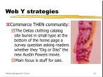 web y strategies40