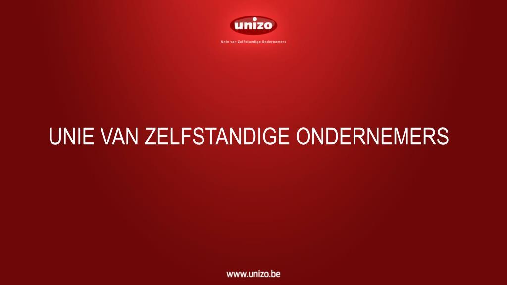 unie van zelfstandige ondernemers l.