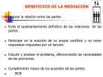 beneficios de la mediaci n