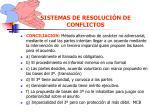 sistemas de resoluci n de conflictos67