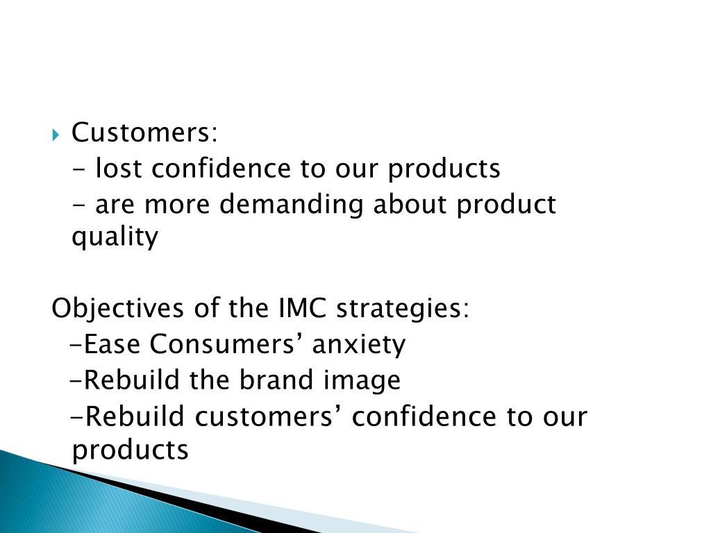 Customers: