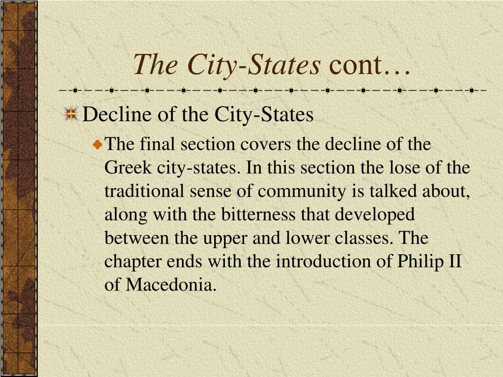 The City-States