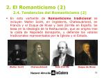 2 el romanticismo 2 2 4 tendencias del romanticismo 2