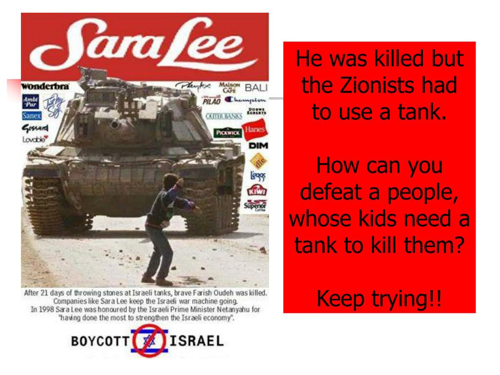 He was killed but the Zionists had to use a tank.