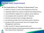 partner with government