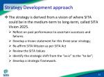strategy development approach14