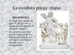 la escultura griega etapas9